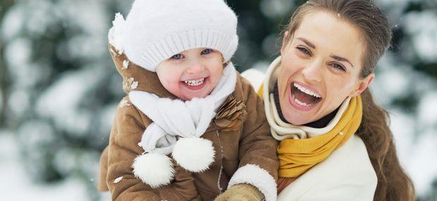 Как одевать ребенка зимой? Одеваемся на прогулку правильно!